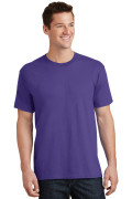 Port & Company Core Cotton Tee PC54 Purple
