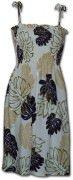 Pacific Legend Rayon Tube Dress - 708-109 Cream