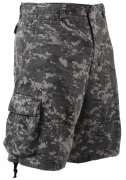 Rothco Vintage Infantry Utility Shorts Subdued Urban Digital Camo - 2770