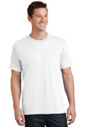 Port & Company Core Cotton Tee PC54 White