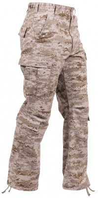 Брюки винтажные Rothco Vintage Paratrooper Fatigue Pants Desert Digital Camo - 23366, фото