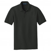 Port Authority Core Classic Pique Polo Deep Black