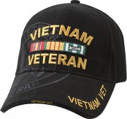 Rothco Deluxe Vietnam Veteran Military Low Profile Shadow Cap 9598