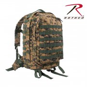 Рюкзак G.I. Plus™ MOLLE 3-Day Assault Pack - Woodland Digital Camo - 41129