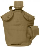 Rothco GI Style MOLLE Canteen Cover Coyote Brown 695