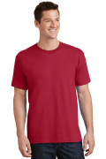 Port & Company Core Cotton Tee PC54 Red