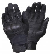 Rothco Carbon Fiber Hard Knuckle Tactical Gloves # 3563