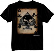 Black Ink 'Death Card' T-Shirt 80300
