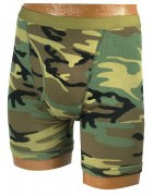 Военные мужские боксеры Rothco Men's Military Boxer Briefs - Woodland Camo - 116