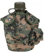 Rothco G.I. Style Canteen Cover Woodland Digital Camo 565