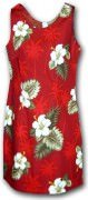 Pacific Legend Hawaiian Short Tank Dress - 315-2798 Red