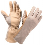 Rothco G.I. Type Flame & Heat Resistant Flight Gloves Desert Sand 3474