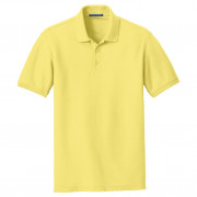 Port Authority Core Classic Pique Polo Lemon Drop Yellow
