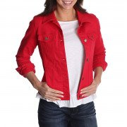 Riders by Lee Indigo Women's Denim Jacket Jalapeno Red