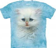 The Mountain Kids T-Shirt Fluffy White Kitten