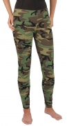 Rothco Women Leggings Woodland Camo 3298
