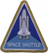 Rothco Morale Velcro Color Patch NASA Space Shuttle 1886