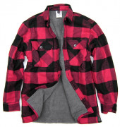 Rothco Extra Heavyweight Buffalo Plaid Sherpa-lined Flannel Shirt Red 3739
