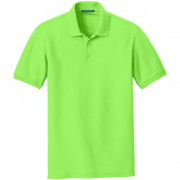 Port Authority Core Classic Pique Polo Lime