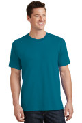 Port & Company Core Cotton Tee PC54 Teal