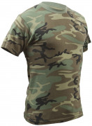 Rothco Vintage T-Shirt Woodland Camouflage 4777