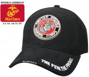 Rothco Deluxe Low Profile Cap With USMC Globe & Anchor Logo 9327