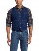 Wrangler® Unlined Denim Vest # Prewashed