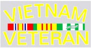 Rothco Vietnam Veteran Decal # 1228