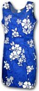Pacific Legend Hawaiian Short Tank Dress - 315-3156 Blue
