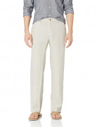 28 Palms Relaxed-Fit Linen Pant with Drawstring Natural