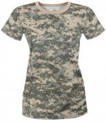 Rothco Womens Long Length T-Shirt ACU Digital Camo - 5677