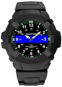 Aquaforce Thin Blue Line Watch 4381