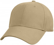 Rothco Supreme Solid Color Low Profile Cap Khaki 8977