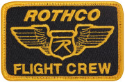 Rothco Morale Velcro Color Patch Rothco Flight Crew 1881