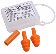Rothco GI Type Silicon Earplugs Orange 4707
