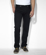 Sale Levi's Men's 501 Original Fit Jean Black 005010660