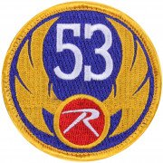 Rothco Morale Velcro Color Patch 53 Wing Rothco 1880