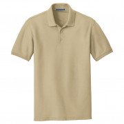 Port Authority Core Classic Pique Polo Wheat