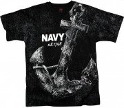 Rothco Vintage 'Navy Anchor' T-shirt 66320
