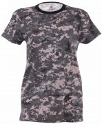 Rothco Womens Long Length Camo T-Shirt Subdued Urban Digital Camo - 5672