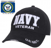 Rothco Deluxe Low Profile Navy Veteran Cap 3953