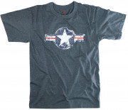 Rothco Vintage Army Air Corps T-Shirt Blue 66500