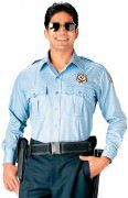 Rothco Long Sleeve Uniform Shirt Light Blue 30010
