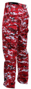 Rothco BDU Pants Red Digital Camo 99640