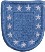 Rothco U.S. Army Beret Flash Patch Blue 3574