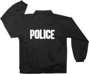 Rothco Lined Coaches Police Jacket Black 7646